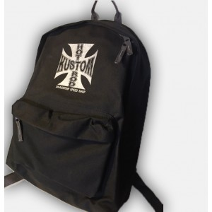 Dragstrip Clothing Hot Rod Iron Cross Biker Back Pack