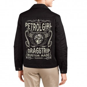 b4be3d527869 Dragstrip Clothing Womens Petrol Girl driver jacket