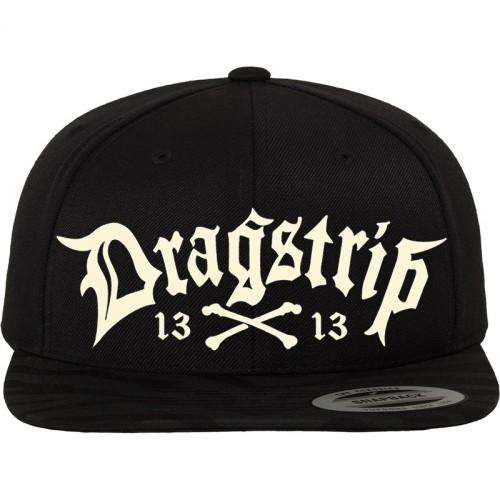 Dragstrip Kustom Clothing Black 13 LA gangster script Snap Back 580b4373f4e6