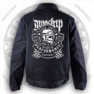 Dragstrip Kustom Greaser jacket Moto Club Print
