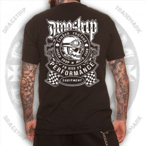 Dragstrip Clothing Moto Club Cafe Racer mens t`shirt