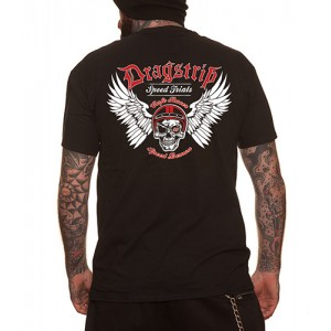 Dragstrip Clothing Cafe Racer Speed Demon T`shirt