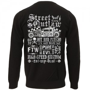 Dragstrip Clothing Street Outlaw biker jersey