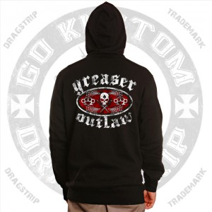 Greaser Outlaw Hooded Top
