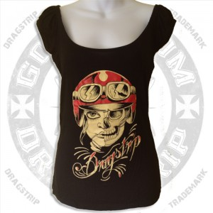 Dragstrip Clothing Gypsy Top Cafe Racer Girl