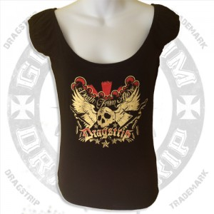 Dragstrip Clothing Gypsy top death from above