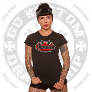 Girls T`shirt Dragstrip London Logo