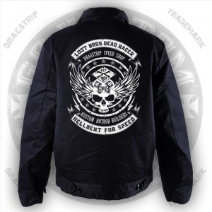 Dragstrip Kustom Lost Bros Dead Racer greaser jacket
