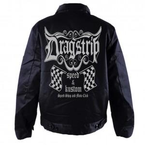 73a029e7ed4 Dragstrip Clothing Mens Speed Shop Biker Jacket
