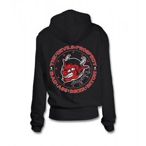 Dragstrip Kustom. Women`s Hooded Top Devils Prospect