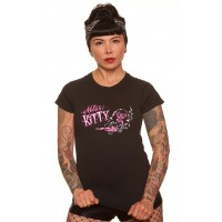 Dragstrip Clothing Vince Ray Miss Kitty t`shirt