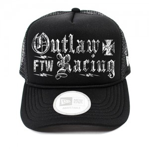 Dragstrip Outlaw Racing Flip Trucker Cap Black