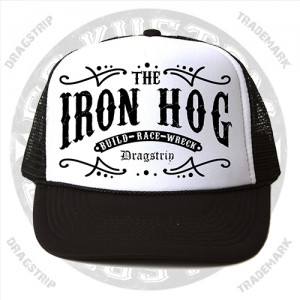 Dragstrip Kustom Iron Hog Trucker Cap