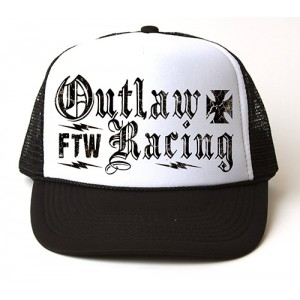 Dragstrip Outlaw Racing Flip Trucker Cap