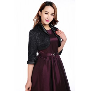Chic Star Gothic Jacquard Shrug
