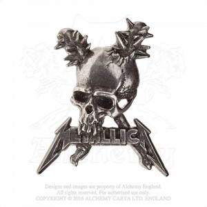 Metallica Damage Inc skull Badge