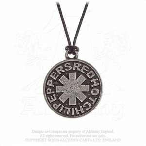 Red Hot Chilli Peppers Asterisk circle Pendant