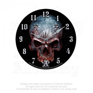 Birth of A Demon Wall Clock