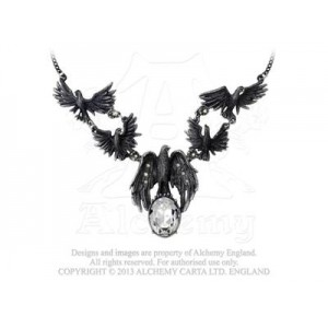 A Murder of Crows necklace