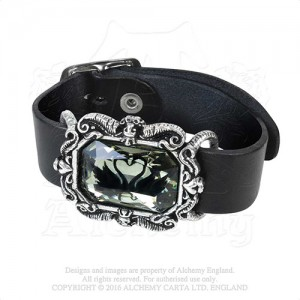 Black Swan  Leather Wriststraps