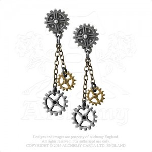 Machine Head Earrings