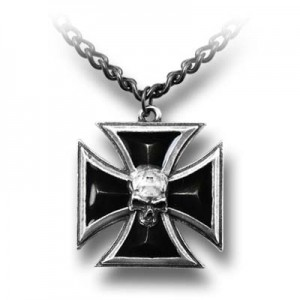 Black Knight's Cross (Pendant)