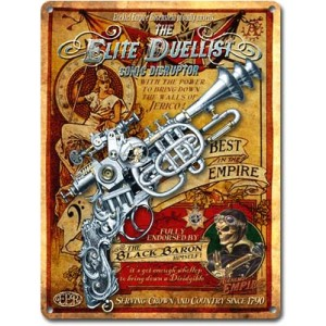 Elite Duellist (Metal Plaque)