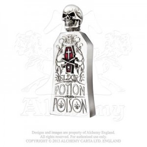 Alchemist Potion Bottle (flask - red)