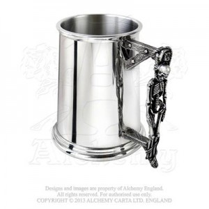 Turpin's Gallows (tankard - polished pewter)