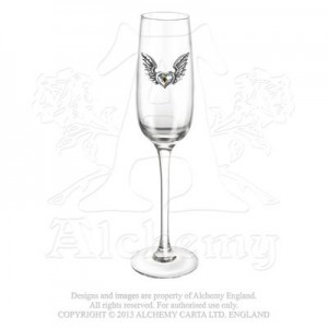 Wings Of Love (champagne glasses; pair)