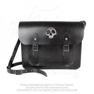 Alice Satchel - Skulls Out Bag