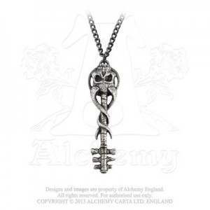 Satan`s Key To Hell Pendant