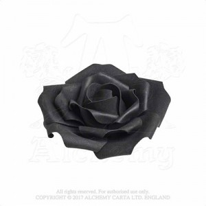 Small Black Rose Head Shades of Alchemy