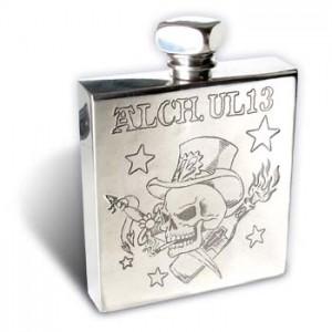 Smok n' Alchohol - Q-Bic Flask