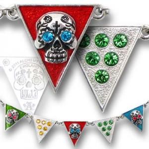 Banderas De Los Muertos necklace