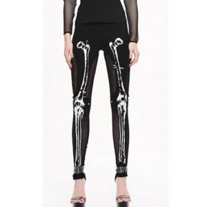 Devil Fashion Bad Bones Leggings