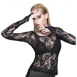Devil Fashion Black Lace Esme Top