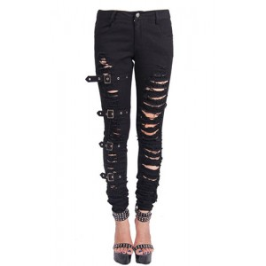 Devil Fashion Gothic Chaos Trousers