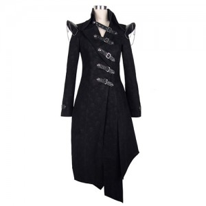 Devil Fashion Gothic Shadow Coat