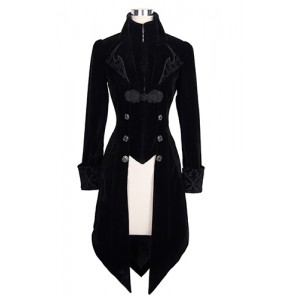 Devil Fashion Gothic Maelstrom Velvet Jacket