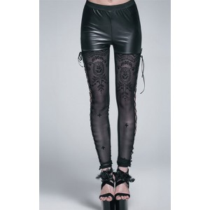 Devil Fashion Celeste Lace Leggings