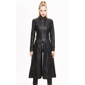 Devil Fashion Steampunk Lost World Coat