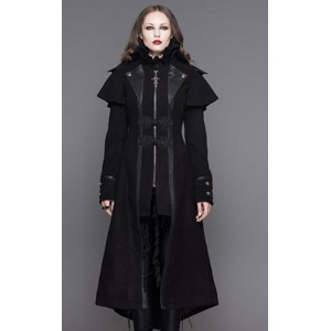 Devil Fashion Gothic Odette Coat