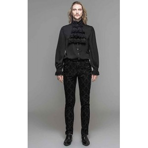 Devil Fashion Mens Dorian Trousers
