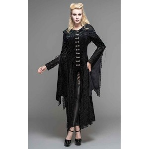 Devil Fashion Black Velvet Jezebel Jacket
