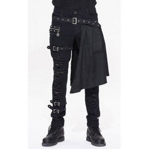 Devil Fashion Mens Gothic Draven Trousers