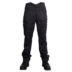 Devil Fashion Mens Gothic Oberon Trousers