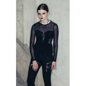 Devil Fashion Spider Web Petra Top