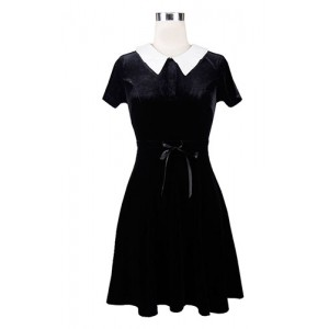 Devil Fashion Addams Moonlight Dress