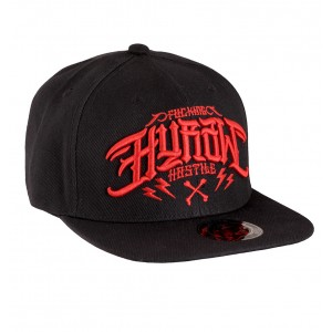 RED - SNAP BACK CAP